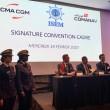 Signature d'une convention cadre de partenariat entre l'ISEM et CMA CGM MAROC