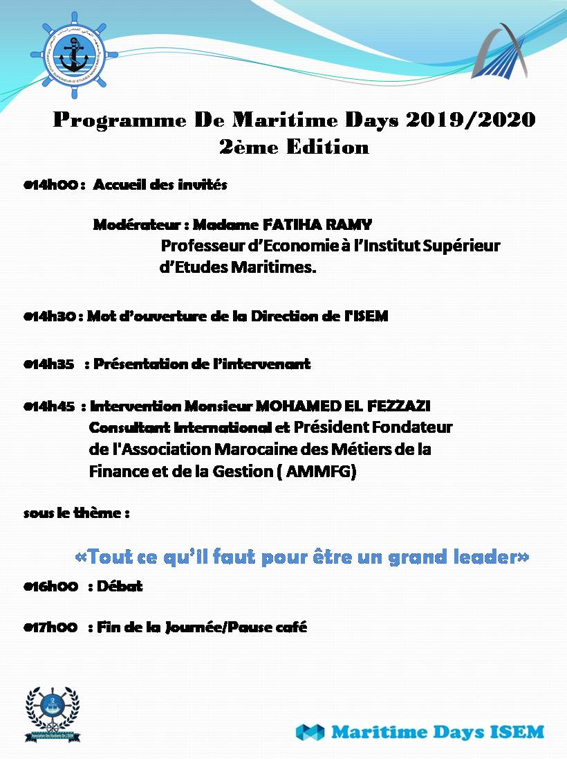 Programme2eme Edition 2019-2020