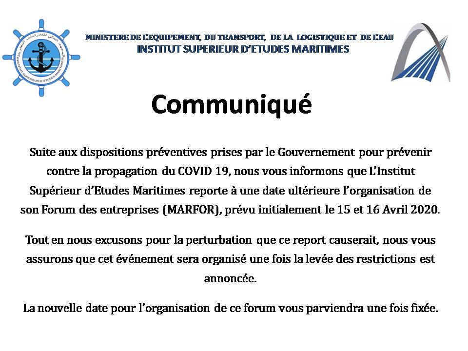 Communiqué-MARFOR-2020